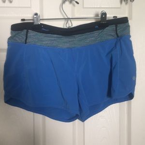 •Lululemon• Speed shorts size 8